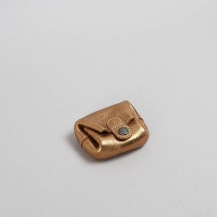 Liv - porte-monnaie cuir bronze