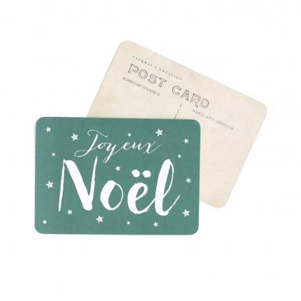 Carte postale Joyeux Noël jeanne green