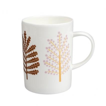 Mug arbres porcelaine Minilabo