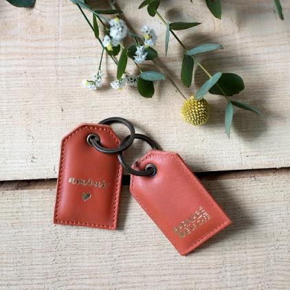 Porte clé Amour Tomette