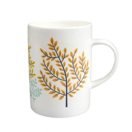 Mug branches porcelaine Minilabo