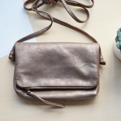 Pochette Sarf - bronze