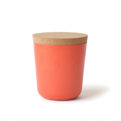 Biobu gusto XL storage jar persimmon