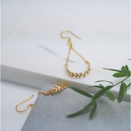 Boucles d'oreilles Hélène - 10349 amulette
