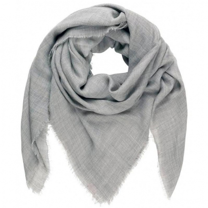 Echarpe 100 % laine Mill grey melange