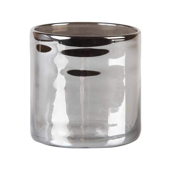 Tealight holder cosmic silver