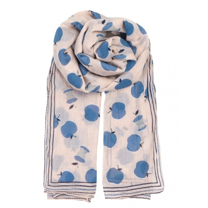 Foulard Free Apple - lichten blue