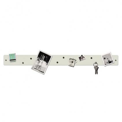 Magnetic strip 6,5 x 71 cm blanc