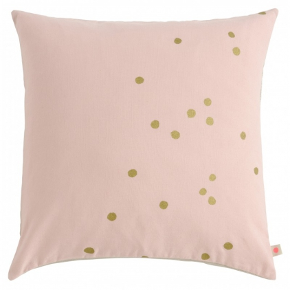 Cushion cover Lina Biscuit gold dots 50