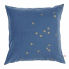 Cushion cover Lina Blueberry gold dots 50