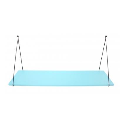 Etagère Babou 1 - 24 x 85 x 33 cm bleu aqua aruba