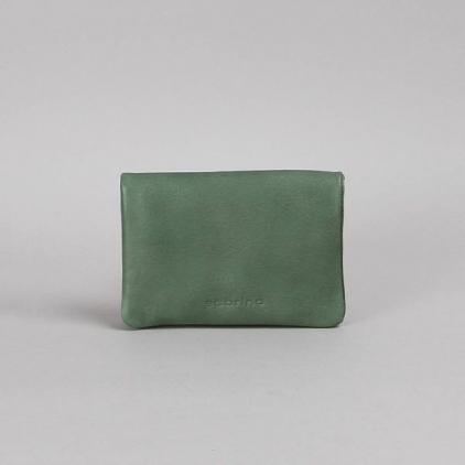 Pippa - portefeuille cuir eucalyptus