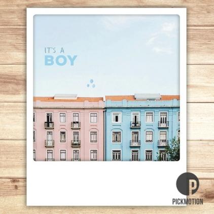 Carte postale It's a boy ZG0208EN