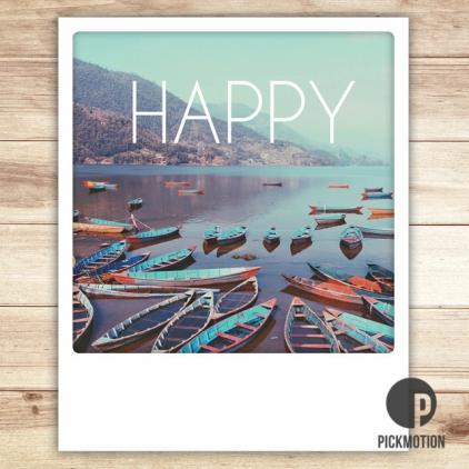 Carte postale Happy ZG0113EN