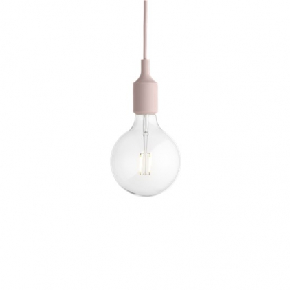 E27 socket lamp LED - rose