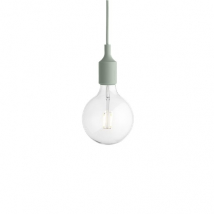 E27 socket lamp LED - light green
