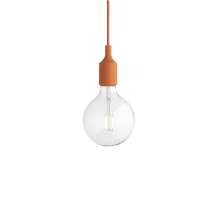 E27 socket lamp LED - orange