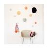 patère The dots – 1 pièce M dusty pink