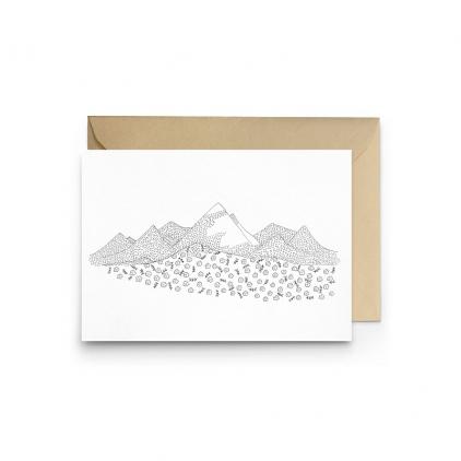 Carte simple - Himalaya