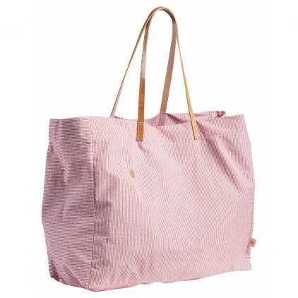 Shopping bag finette tomato