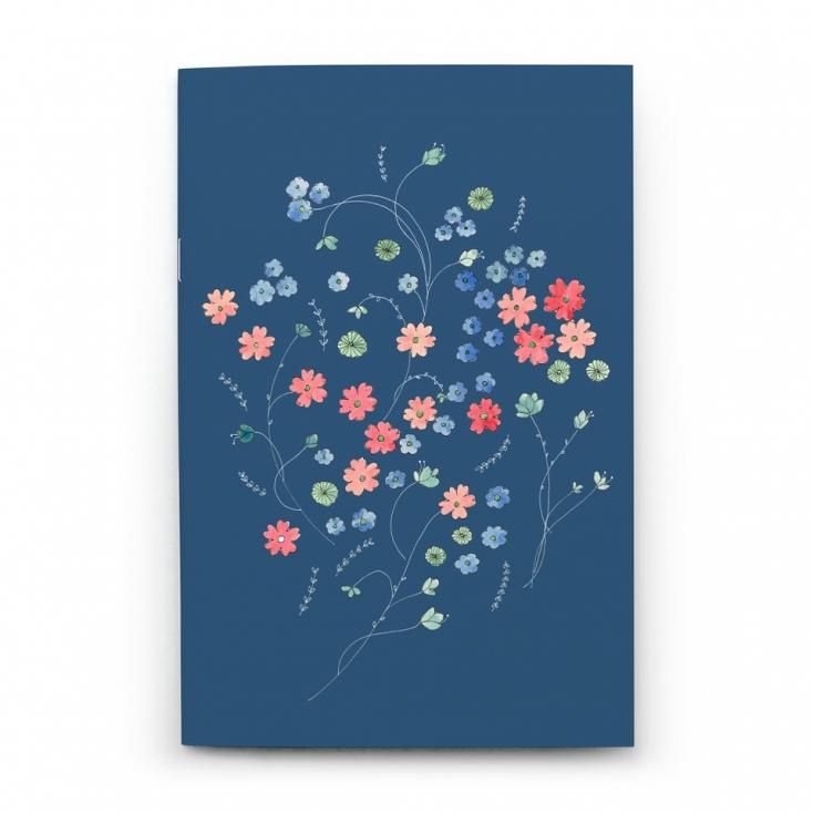 Cahier prague bleue
