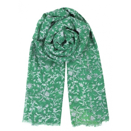Foulard Dahna - Pepper green