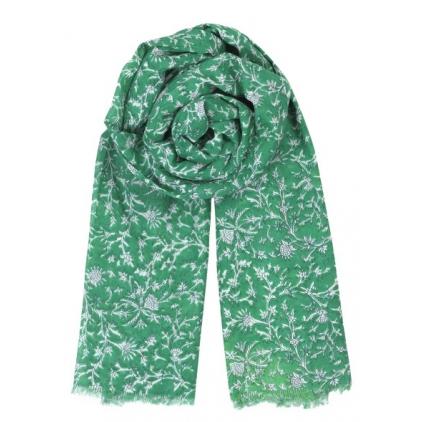 Foulard Dahna - Pepper green