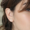 Boucles d'oreilles - Geo ear climbers