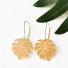 Boucles d'oreilles - Jungle earrings gold