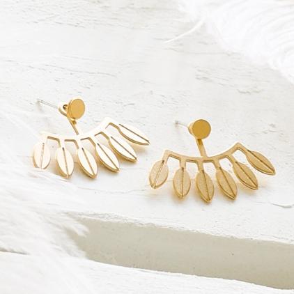 Boucles d'oreilles - Amazonas earrings gold