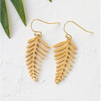 Boucles d'oreilles - Canopy earrings gold