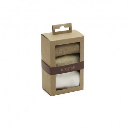 Pack de 3 chaussettes - Nuances de doré