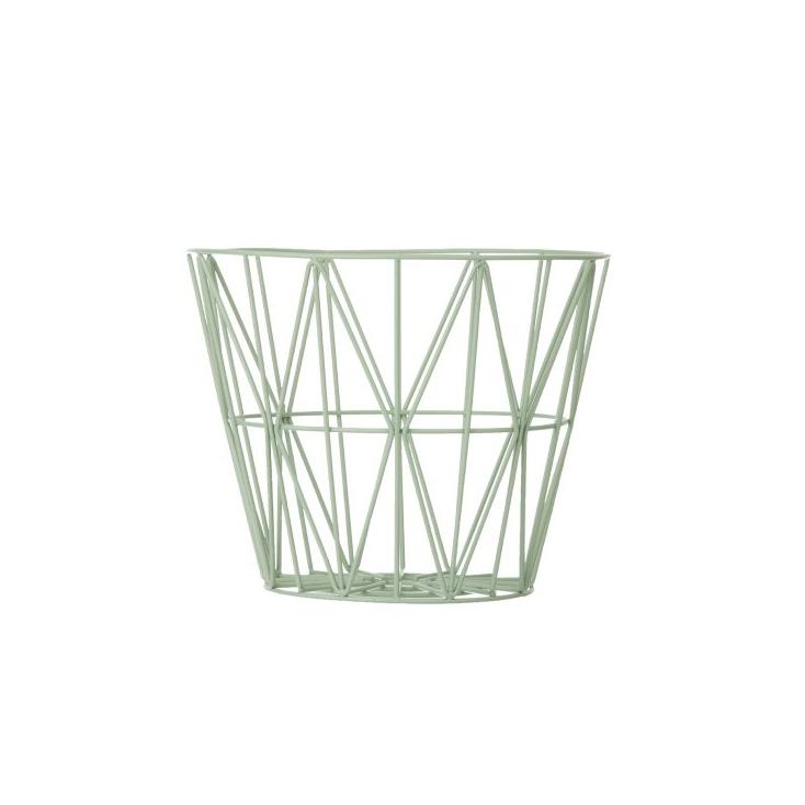 wire basket medium 50 x 40 cm - grey