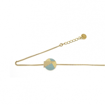 Bracelet chaine Lizzy - turquin