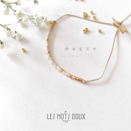 Bracelet Les mots doux - Magie