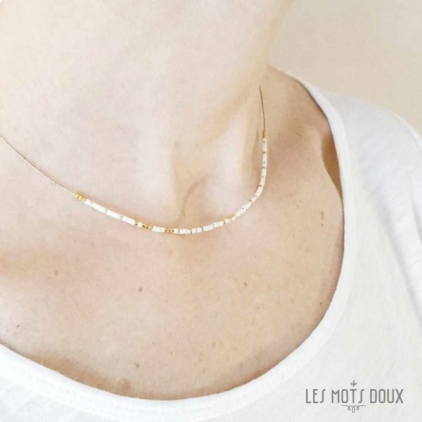 Collier Je t'aime maman