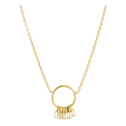 Collier Stacy round