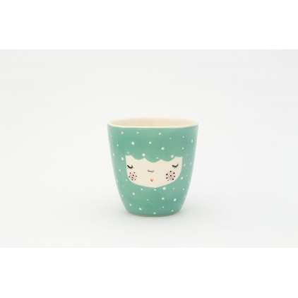 Character cup dusty mint
