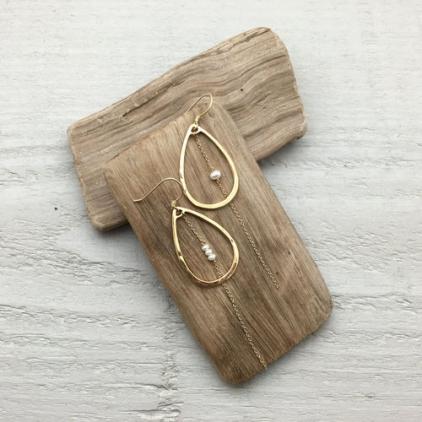 Boucles d'oreilles Maria perle 10208 Amulette