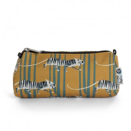 Cylinder pencil case Tiger