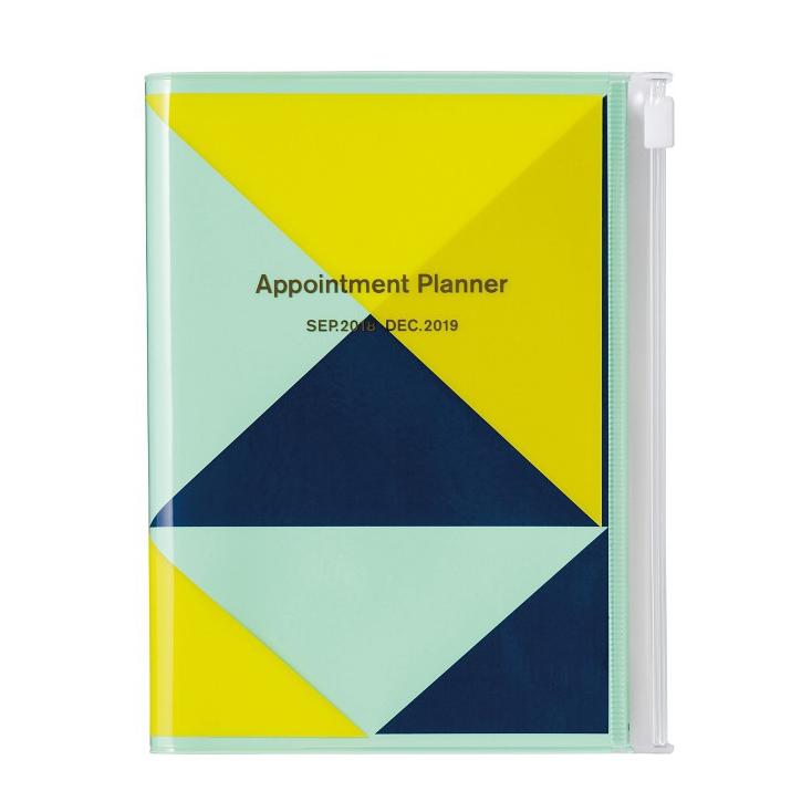 Agenda Geometric A6 mint