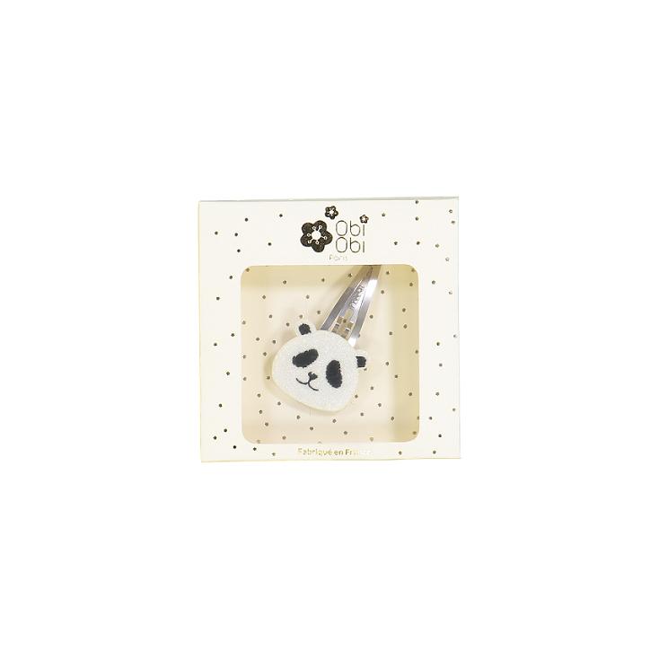 Barrettes animal - panda