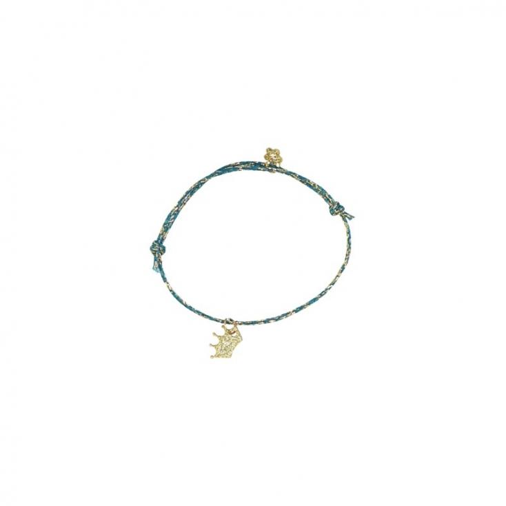 Bracelets Star - bleu couronne