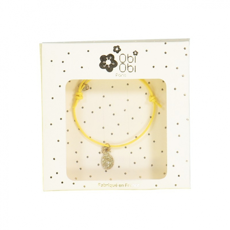Bracelets Yummy - Jaune ananas
