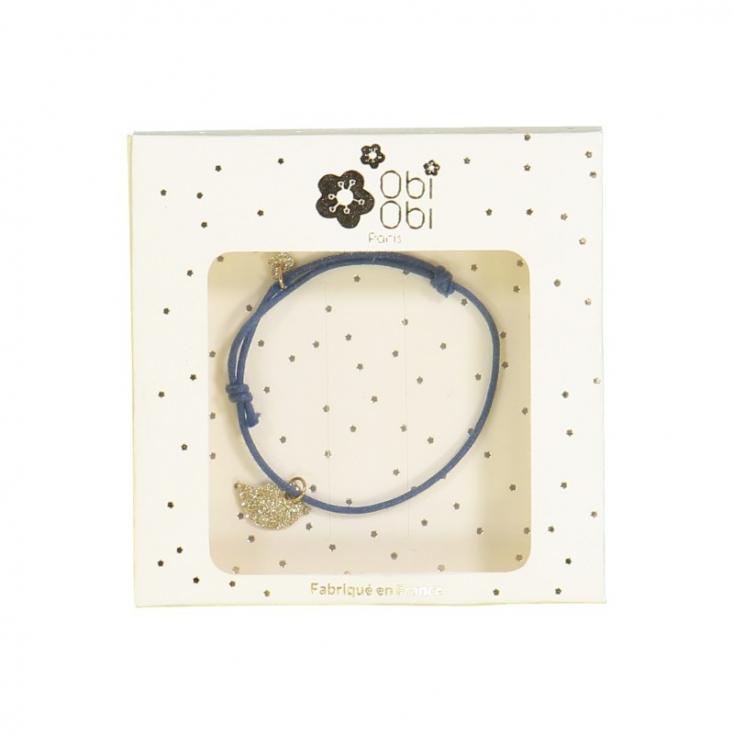 Bracelets Animal - Bleu poussin