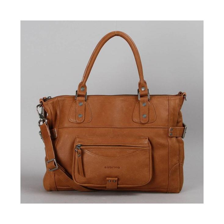 e71a005d76d Camille - sac cuir vachette caramel