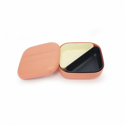 Biobu Go Bento lunch box - Coral