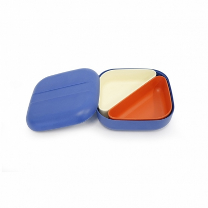 Biobu Go Bento lunch box - Royal blue