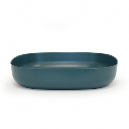 Biobu Gusto large serving dish blue abyss