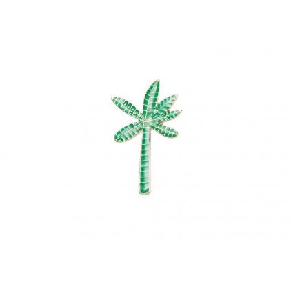 Pin's palmier vert